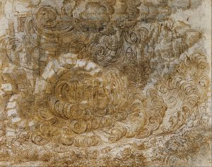 Sketch of a Deluge Witnessed by Leonardo da Vinci